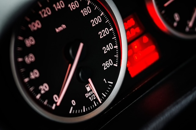 Driving up savings - how to save money on your next car - speedometer image