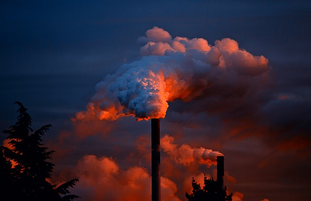Reducing pollution in your life - smoking chimney image