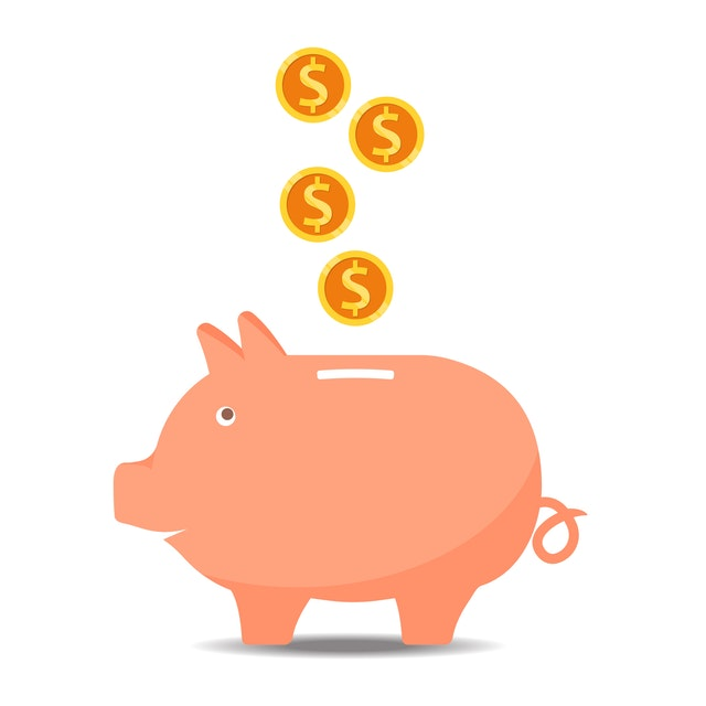 How to Make the Most of the Benefits You Receive - piggy bank and coins image