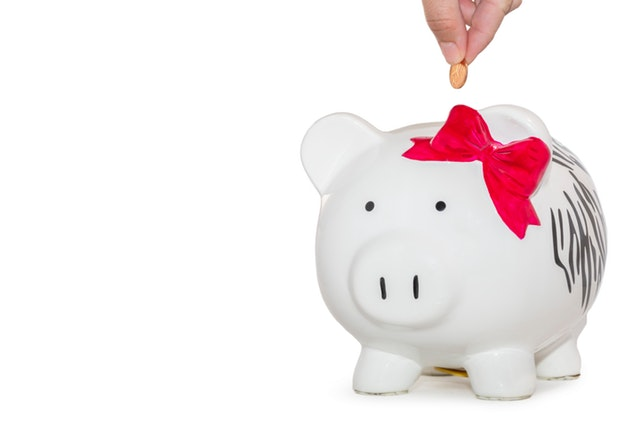Personal Finance Tips for Business Owners - piggy bank and coin image