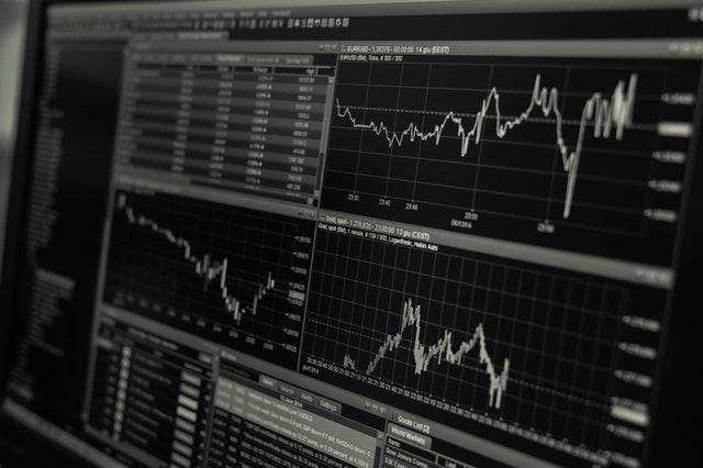 How An Investor Could Get Through Corona-Virus Markets - computer screen stock market image