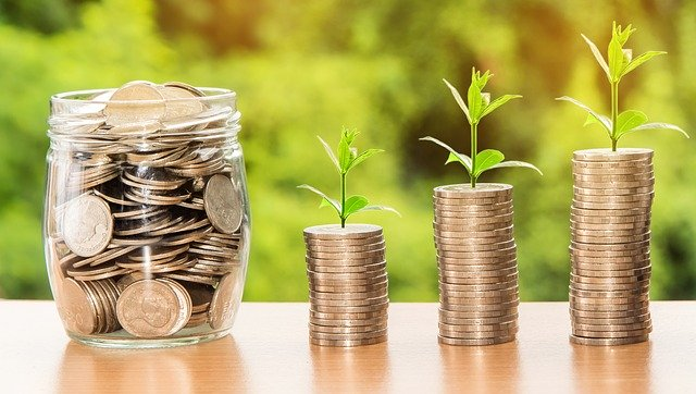 Eliminating Financial Stress In The Future - savings and money growth image