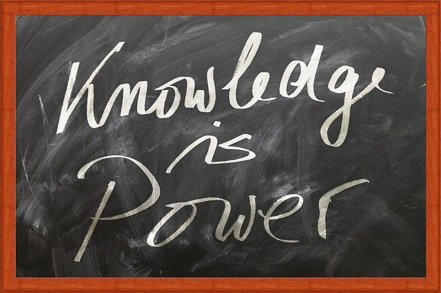 Why Knowledge Is Power In Business - education chalkboard image