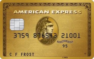 American Express Gold Card, a best UK Reward Credit Card