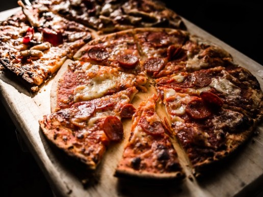 Pizza earned through using UK loyalty cards