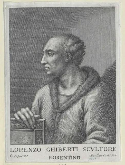 Portrait of Lorenzo Ghiberti