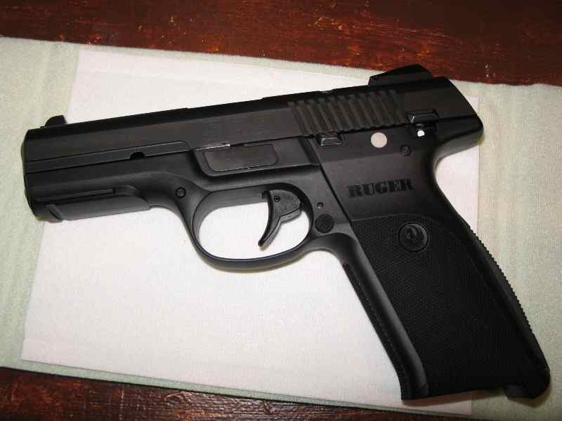 Ruger Sr9 New Polymer Framed 9mm The Firearm Blog