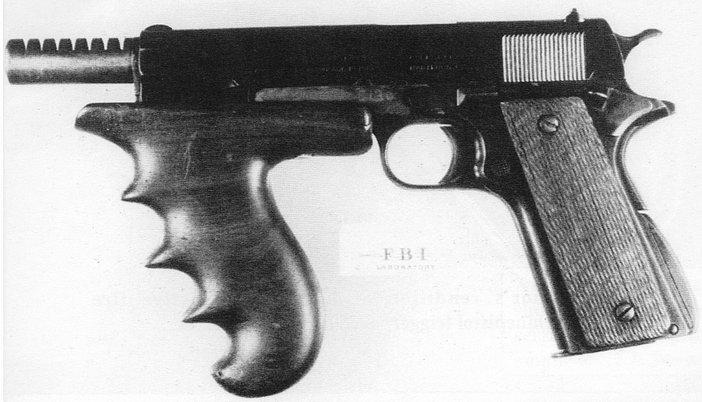 Colt M1911 Machine Pistols The Firearm Blog