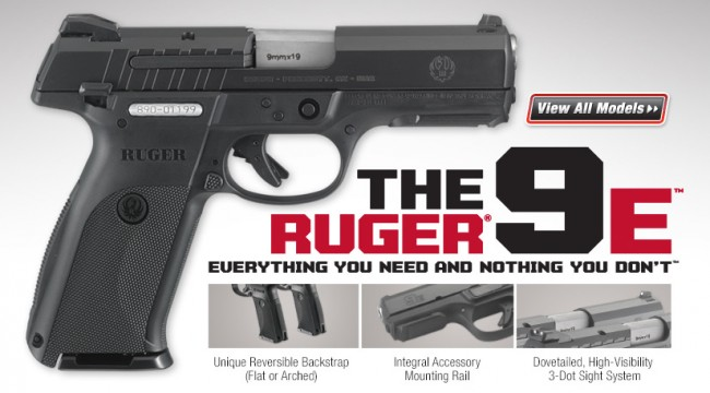 The New Ruger 9e A Low Cost Ruger Sr9 The Firearm Blog