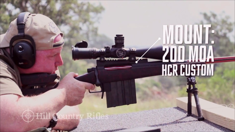 HCR 200 MOA mount