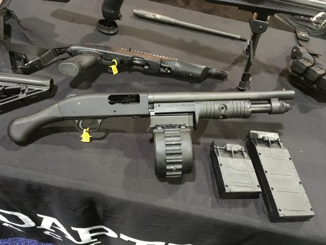 Adaptive Tactical Shockwave Sidewinder NRA 2017 The