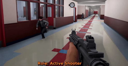 Homeland Security Rolls Out Virtual School Shooter  Game  to     Homeland Security Rolls Out Virtual School Shooter  Game  to Teachers