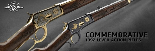 Chiappa 60th Anniversary Commemorative Lever Action Rifles (2)
