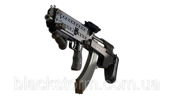Ukrainian Black Storm BS-4 Bullpup Conversion Kit for AK Rifles (5)