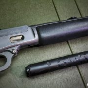 Suppressed lever action