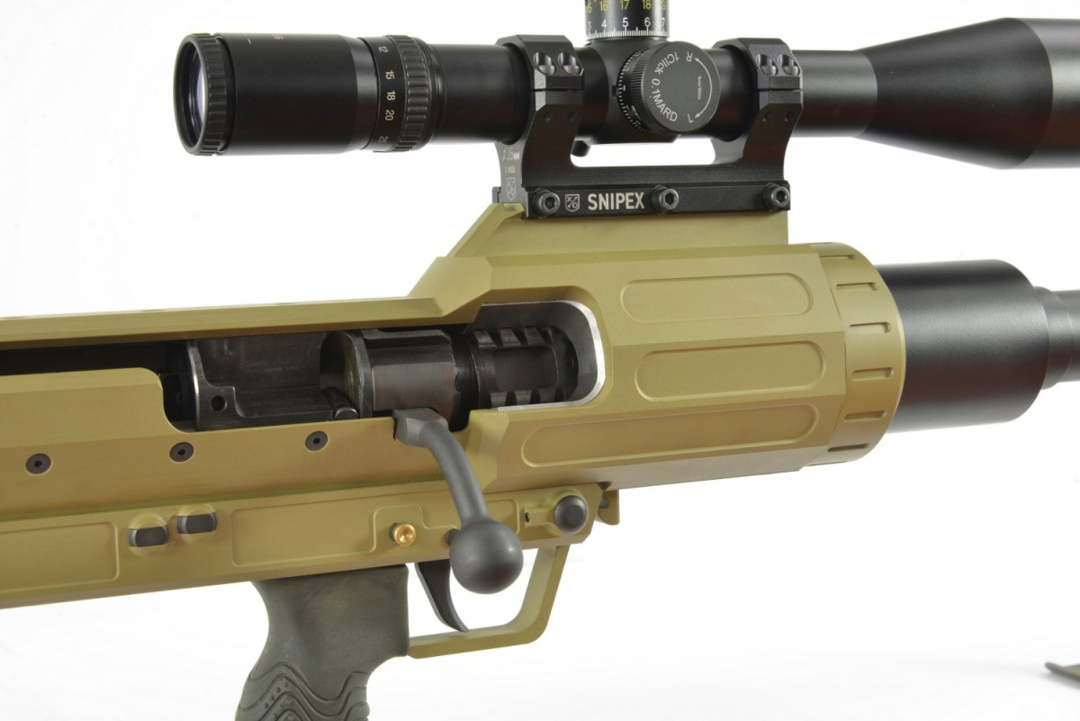 Ukrainian Snipex T-Rex 14.5x114mm Anti-Materiel Rifle (1)
