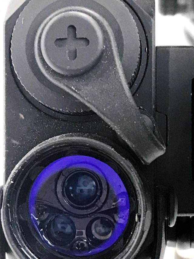 Close up of the Holosun LS321G
