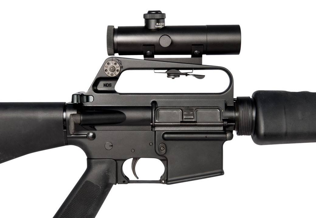 Brownells Retro 4X Carry Handle Scope Now Shipping (7)