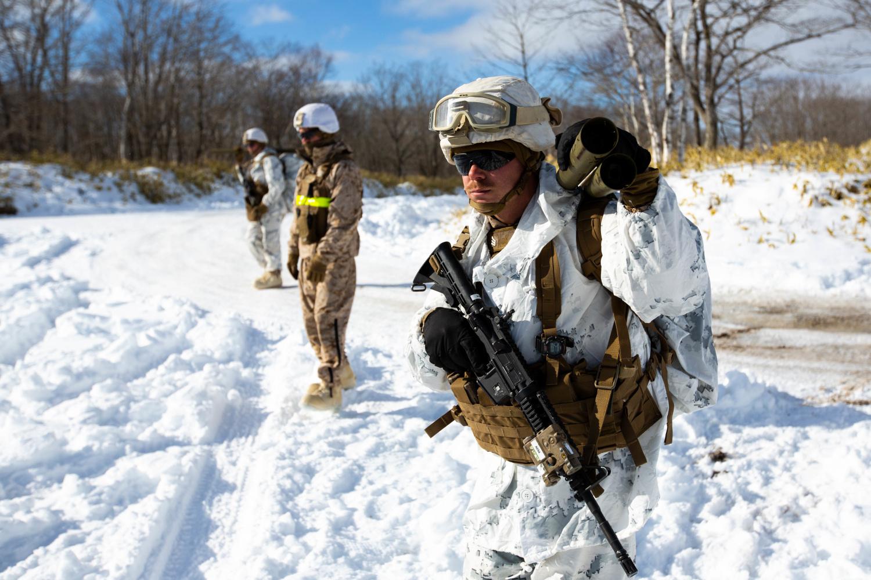 Potd U S Marines In Japan With M32 Multiple Grenade
