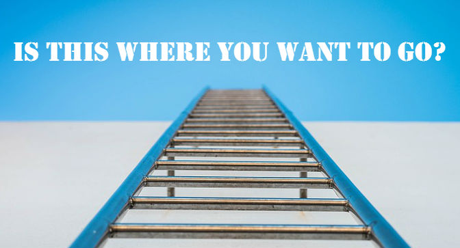 Are you climbing a ladder to success?