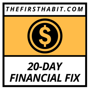 20-Day Financial Fix