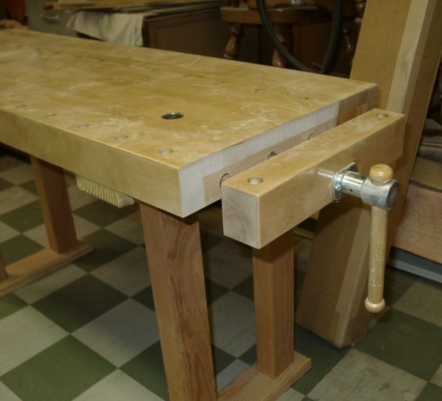 Woodworking Bench Vise Plans