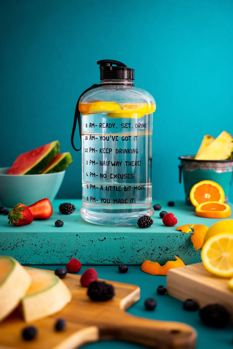5 Clever ways to drink more water