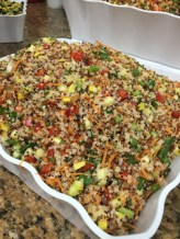 vegetable quinoa salad sm