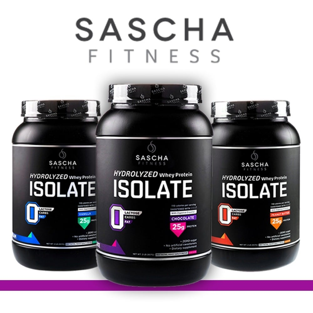 Sascha Fitness – Hydrolyzed Whey Protein Isolate 2018 – Reviews & Buyer's Guide