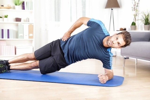 Exercises for the lateral abdomen