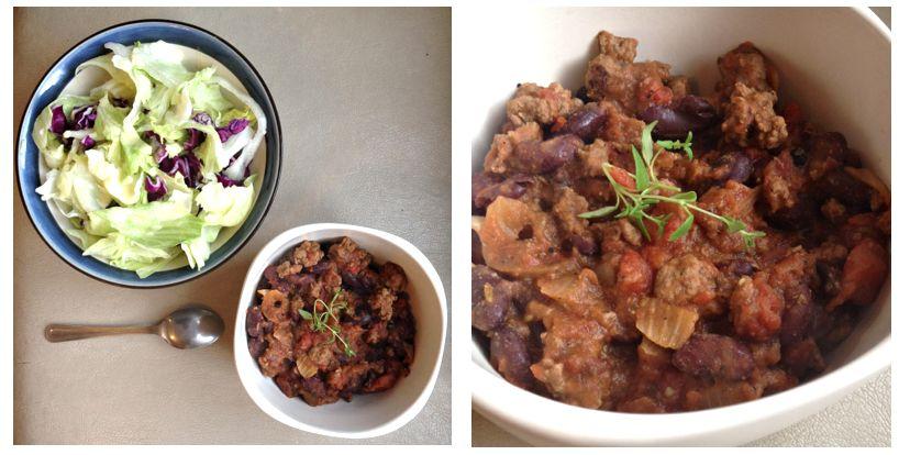 chili con carne allégé recette diététique 2
