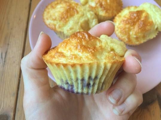 muffins whey vanille
