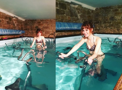 aquabiking thefitnesstheory