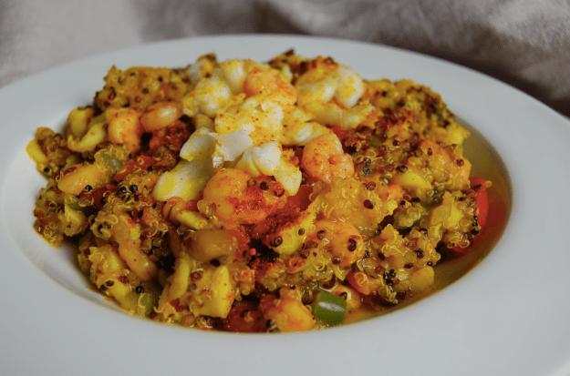 paella quinoa régime