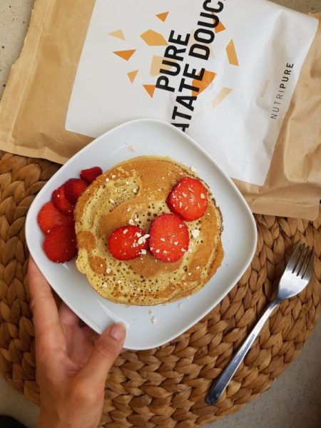 pancakes patate douce nutripure recette