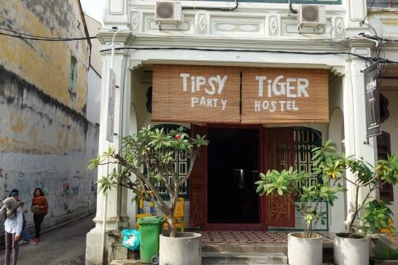 tipsy tiger hostel choses à faire penang