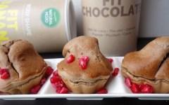 muffins protéinés fit banana fit chocolate natural mojo