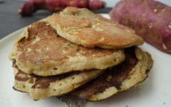 pancakes patate douce light