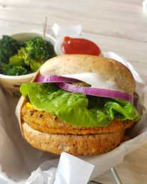 veganburg singapour burger healthy singapore