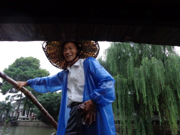 Gondola Singer in Su Zhou