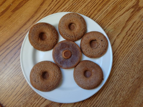 homemade low carb paleo donuts