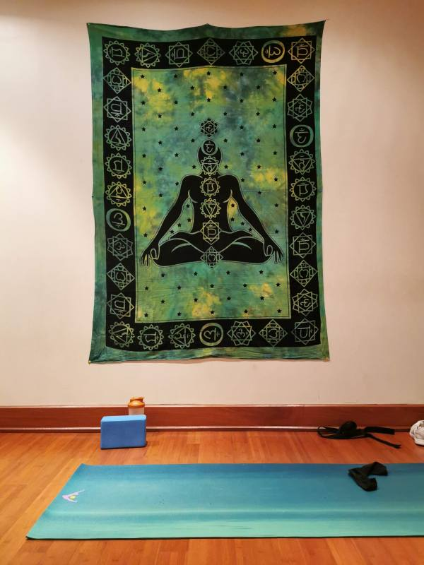 yoga mat studio