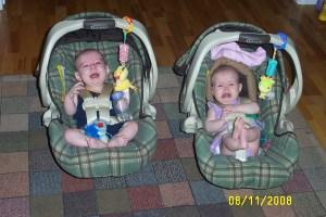 twins, boy girl twins