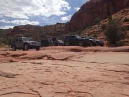 sedona Broken Arrow trail, jeep, jeep offroad
