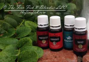 Essential oils for DIY all purpose cleaner