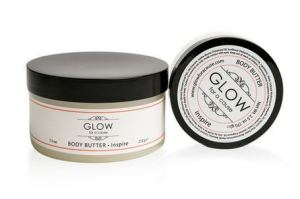 organic body butter, glow for a cause,