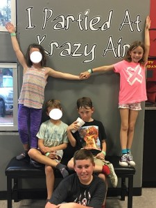 summer fun krazy air, krazy air trampoline park, krazy air indoor trampolines