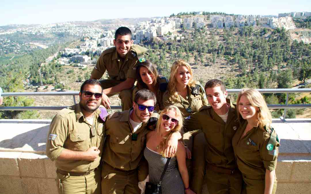 To my Israeli soldiers…