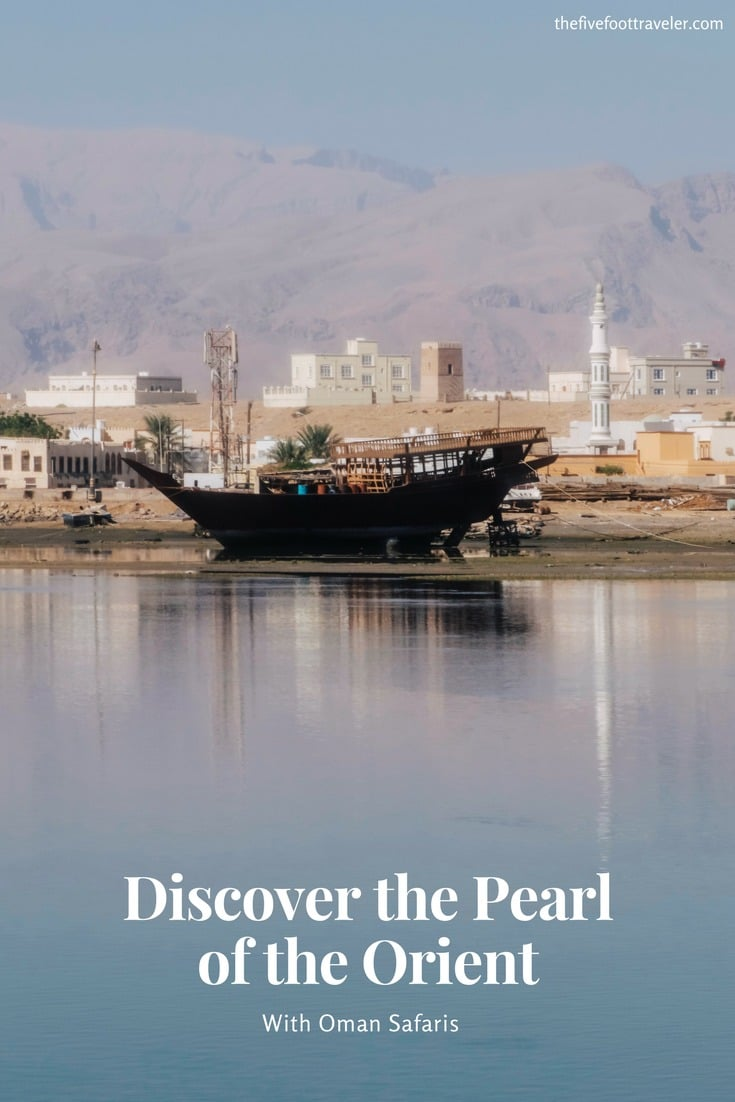 """If you're looking for an authentic, beautiful experience in Oman, look no further than Oman Safaris. Their """"Discover the Pearl of the Orient"""" Tour gave us an amazing overview of all that Oman has to offer! I couldn't recommend spending enough time in this country because 4 days just wasn't enough! Read more at www.thefivefoottraveler.com"""