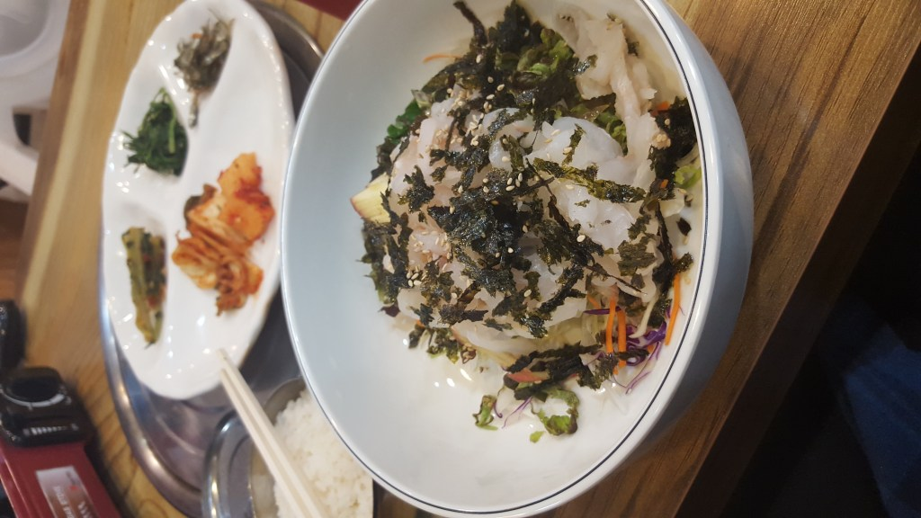 My first Korean dinner